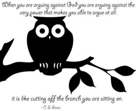Arguing against God