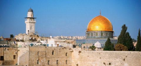 Jerusalem, a very heavy stone