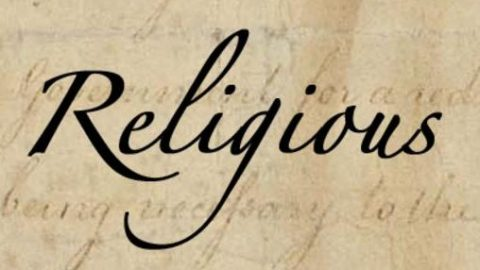 Everyone is religious