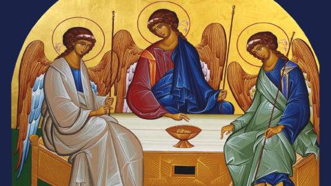 I was baptized into the Trinity
