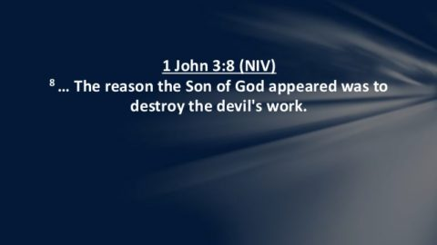 The reason the Son of God appeared