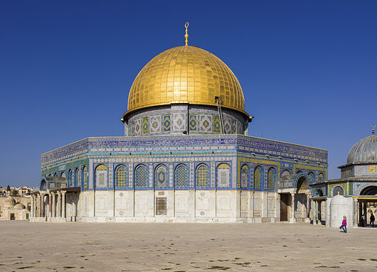 Jerusalem Temple Mount and Dome o the Rock
