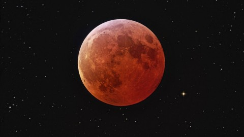 Blood Red Moon during Passover