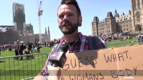 Pro-abortion guy doesn't want you to see this video