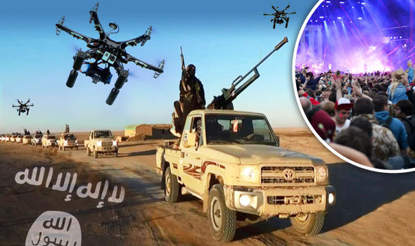 Drone strike ISIS