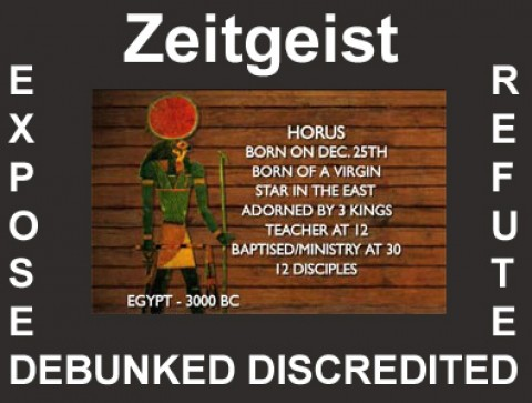 Zeitgeist refuted – The Bible defended