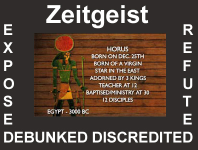 Zeitgeist refuted