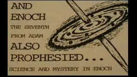 Are black holes mentioned in the Book of Enoch?