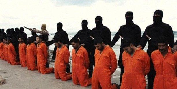 Coptic Christians beheading