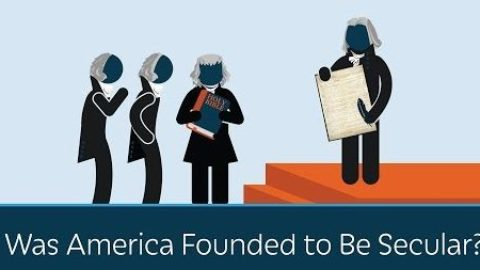 Was America founded to be secular?