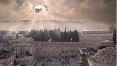 I make Jerusalem a burdensome stone for all people