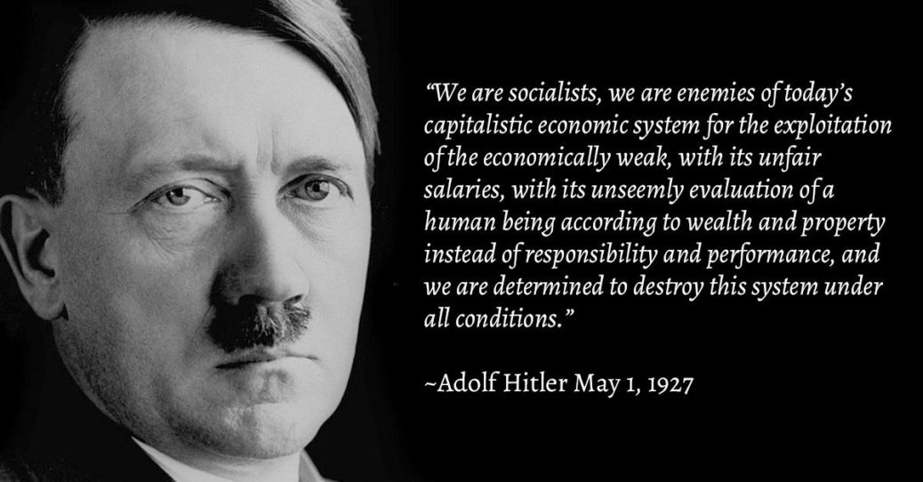 Hitler Socialist