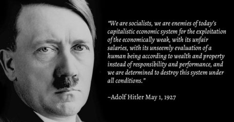 Was Hitler Right-wing or Socialist?