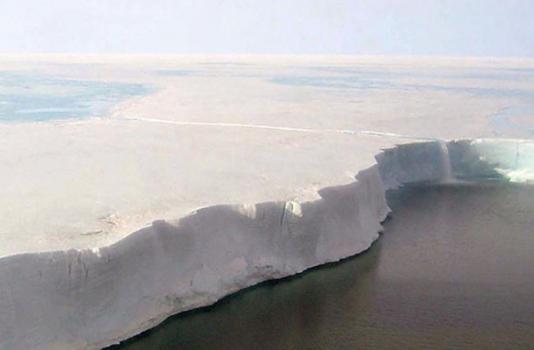 Antarctica wall