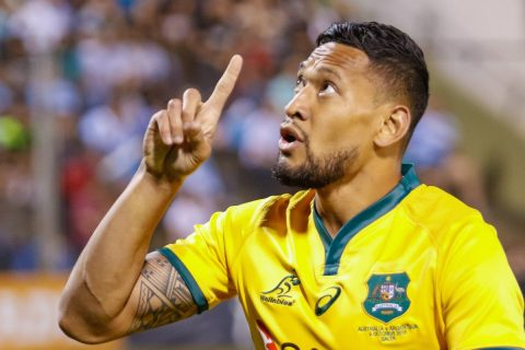 Israel Folau and the gospel